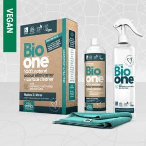 Bio one Odour eliminator 250ml starter packs