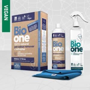 Bio one Pet Odour Remover 250ml starter packs