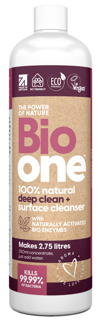 Bio one deep clean and surface cleanser