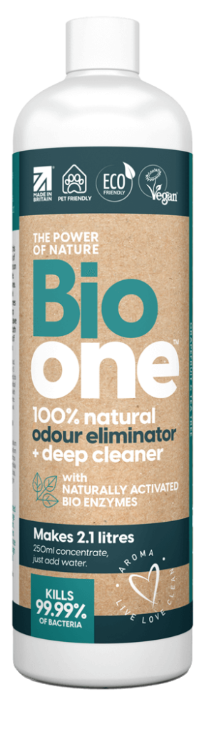 Bio one Odour Eliminator and deep cleaner